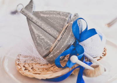 Wooden Boat Favour